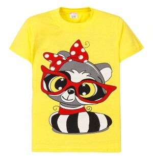"Футболка ""Raccoon with glasses"""